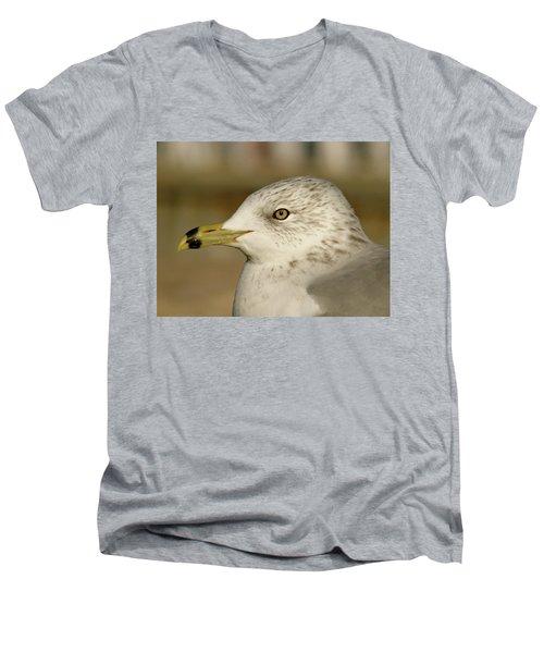 The Eye Of The Seagull Men's V-Neck T-Shirt