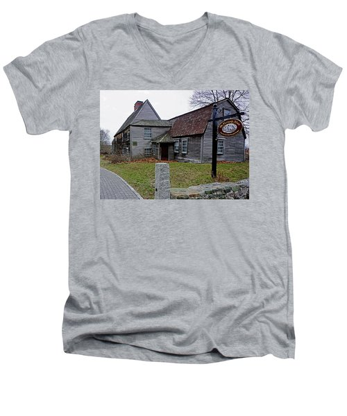 The Fairbanks House Men's V-Neck T-Shirt