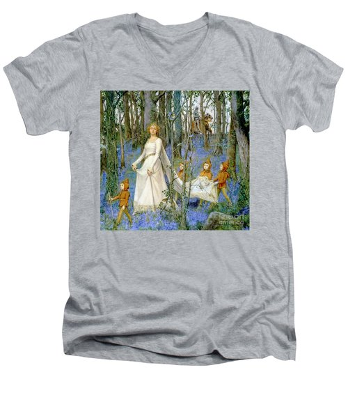 The Fairy Wood Men's V-Neck T-Shirt