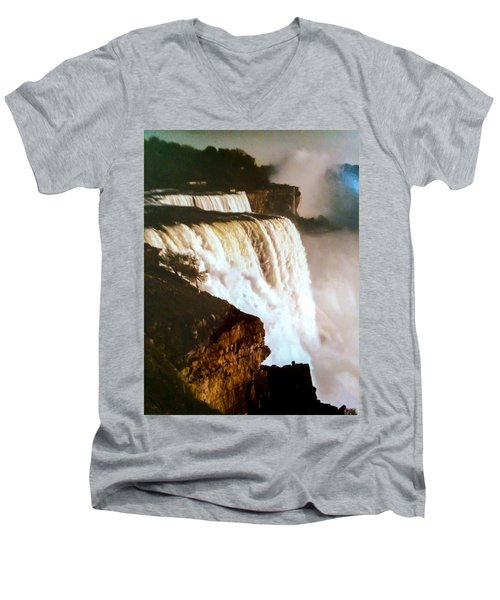 The Falls Men's V-Neck T-Shirt