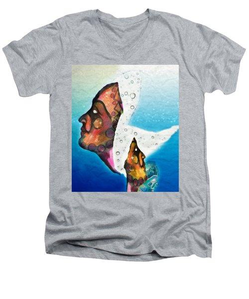 The Fates Chaos Into Hope Men's V-Neck T-Shirt