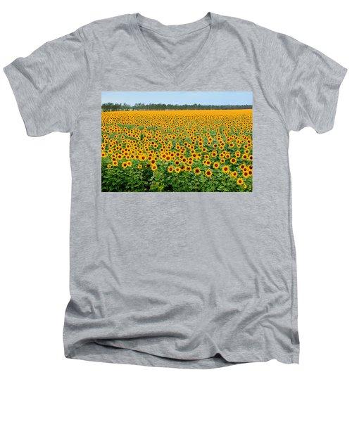 The Field Of Suns Men's V-Neck T-Shirt