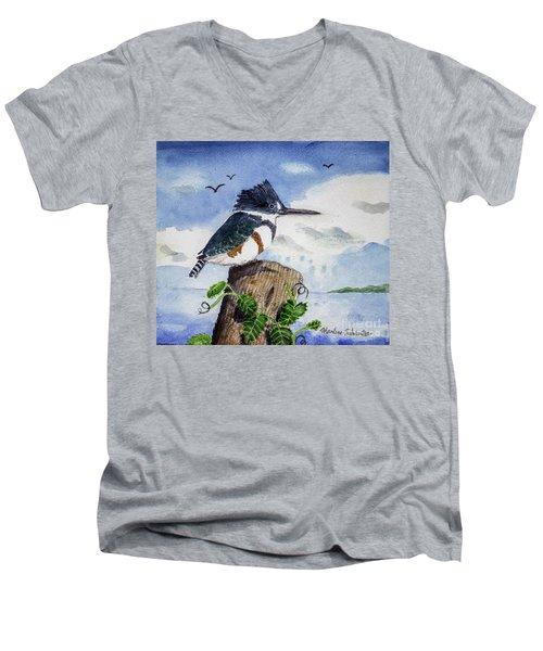 The Fisher Queen  Men's V-Neck T-Shirt