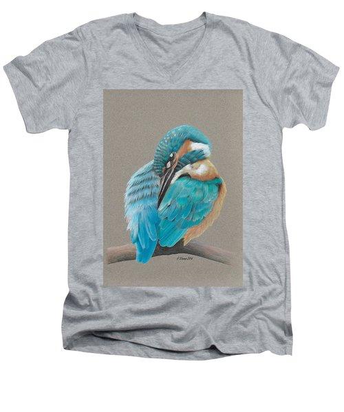 The Fisherking Men's V-Neck T-Shirt