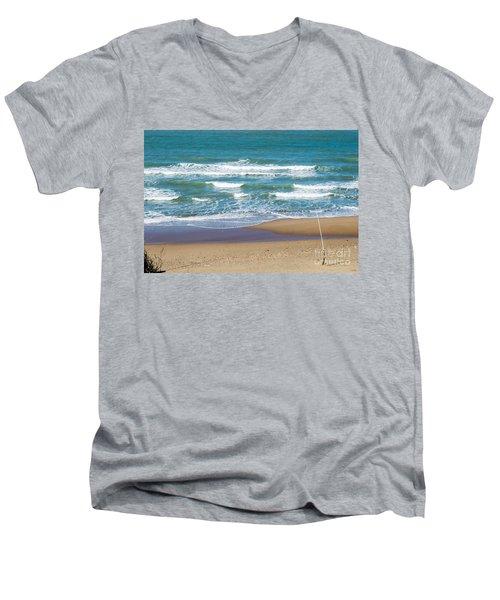 The Fishing Pole Men's V-Neck T-Shirt