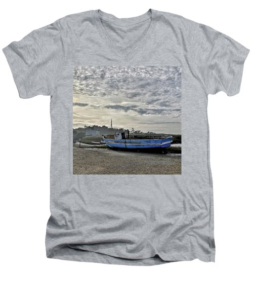 The Fixer-upper, Brancaster Staithe Men's V-Neck T-Shirt by John Edwards