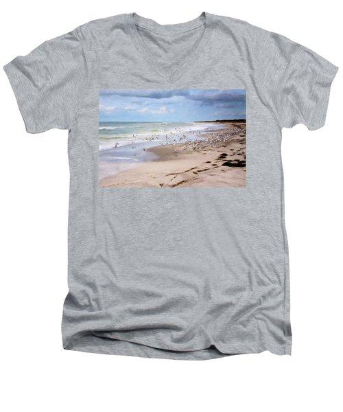 The Flock Men's V-Neck T-Shirt