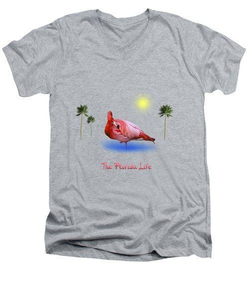 The Florida Life Men's V-Neck T-Shirt