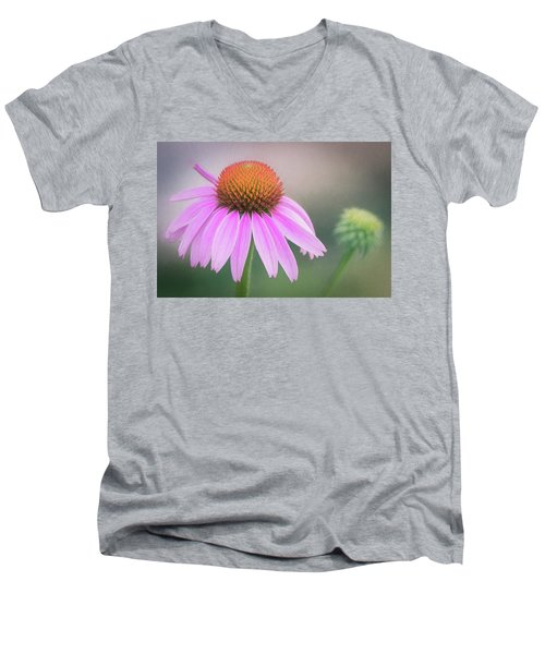 The Flower At Mattamuskeet Men's V-Neck T-Shirt