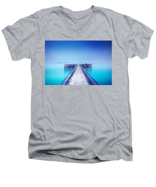 The Foggy Morning Men's V-Neck T-Shirt