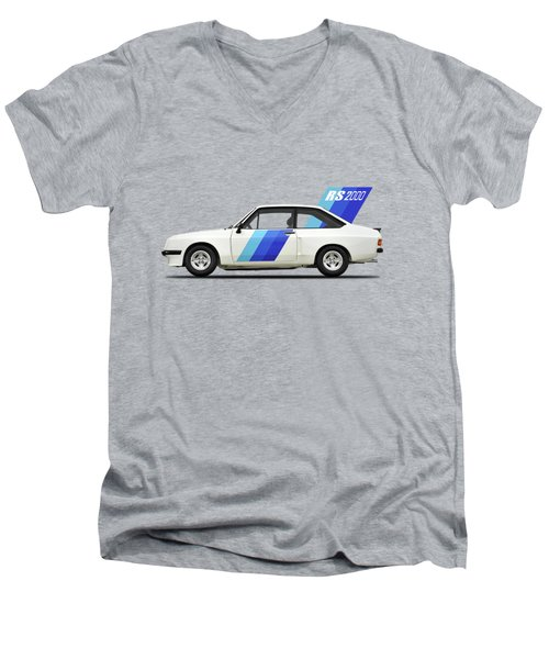 The Ford Escort Rs2000 Men's V-Neck T-Shirt by Mark Rogan
