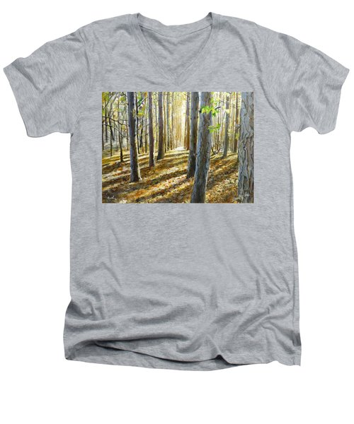 The Forest And The Trees Men's V-Neck T-Shirt