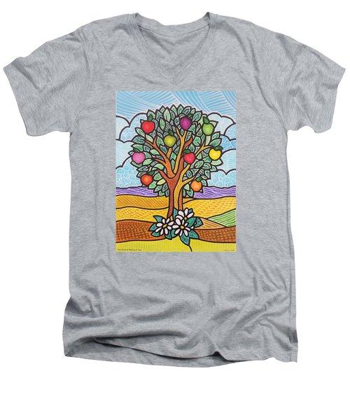 The Fruit Of The Spirit Tree Men's V-Neck T-Shirt