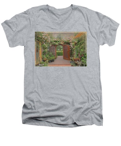 The Garden Door Men's V-Neck T-Shirt