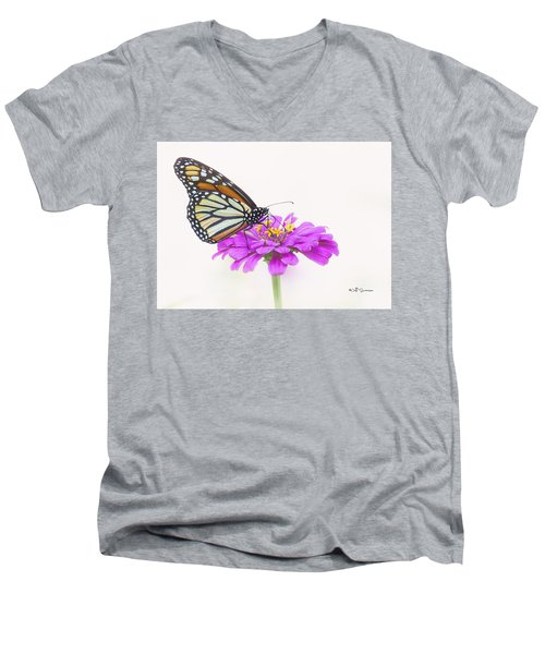 The Garden's Visitor Men's V-Neck T-Shirt
