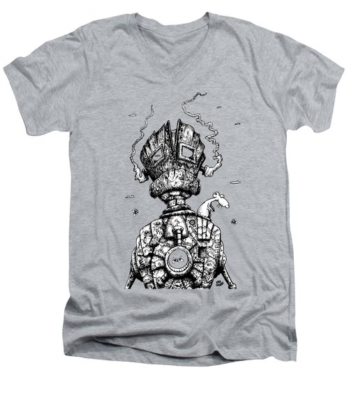 The Ghost In The Machine Men's V-Neck T-Shirt