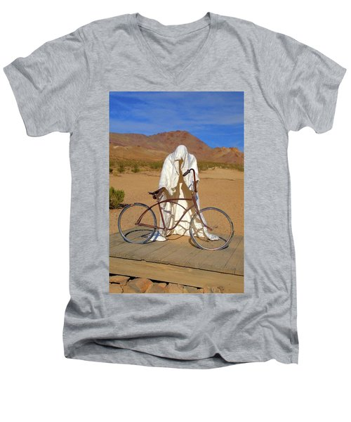 The Ghost Rider Men's V-Neck T-Shirt