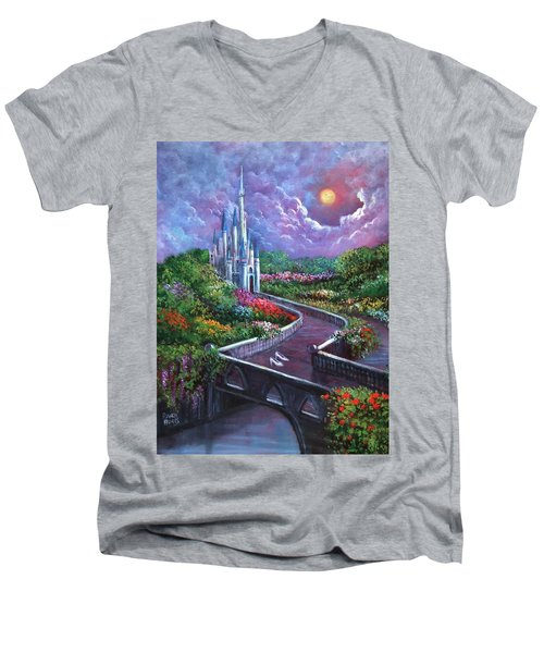 The Glass Slippers Men's V-Neck T-Shirt