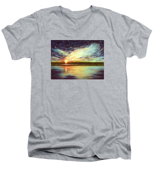 The Glory Of God Men's V-Neck T-Shirt