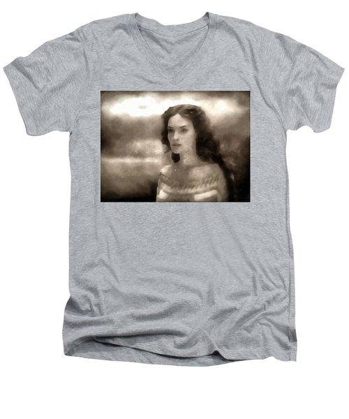 The Goddess Hera Men's V-Neck T-Shirt