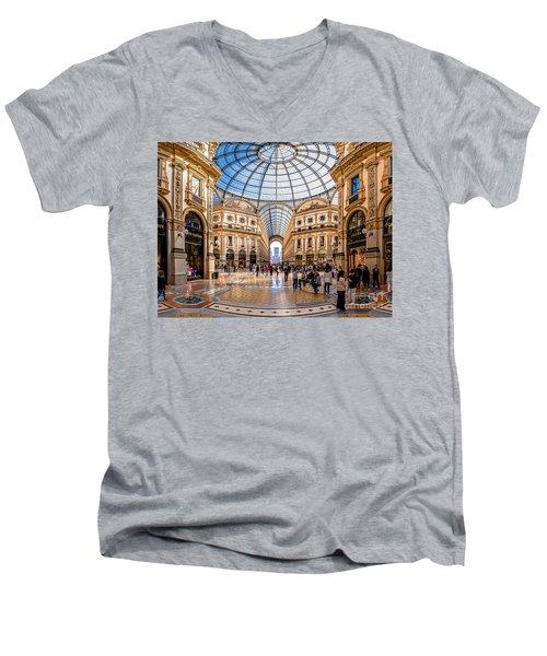 The Golden Hall Men's V-Neck T-Shirt