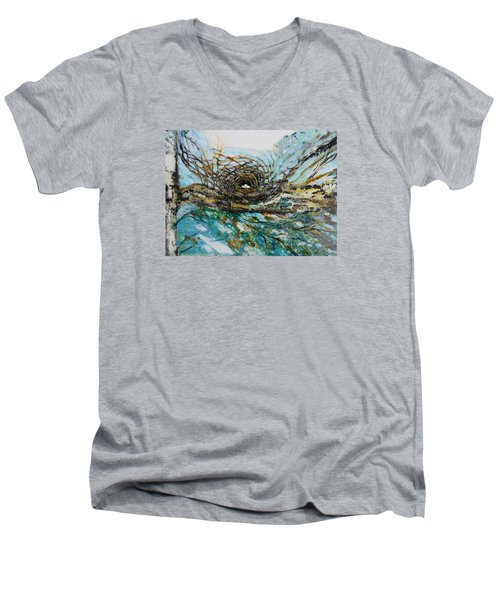 The Golden Nest Men's V-Neck T-Shirt