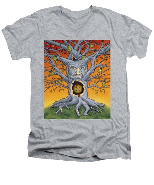 The Golden Pear Men's V-Neck T-Shirt