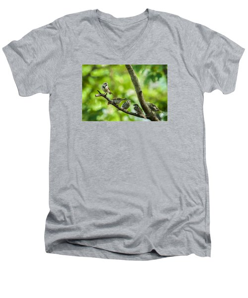 The Gossip Branch Men's V-Neck T-Shirt
