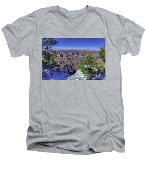 The Grand Canyon Men's V-Neck T-Shirt
