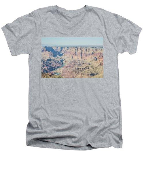 The Grand Canyon Men's V-Neck T-Shirt