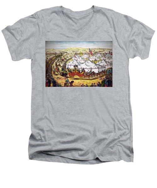 The Grand Layout, Chromolithograph 1874 Men's V-Neck T-Shirt