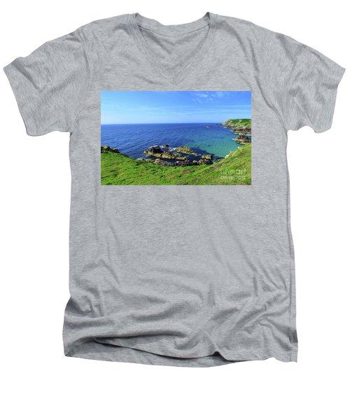 The Greater Saltee Island Men's V-Neck T-Shirt