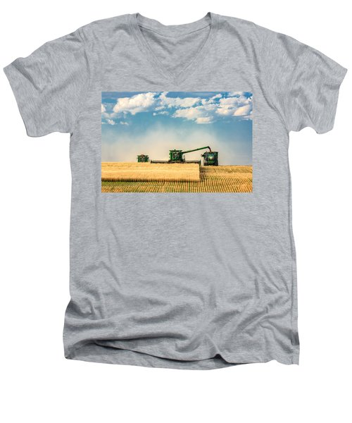 The Green Machines Men's V-Neck T-Shirt