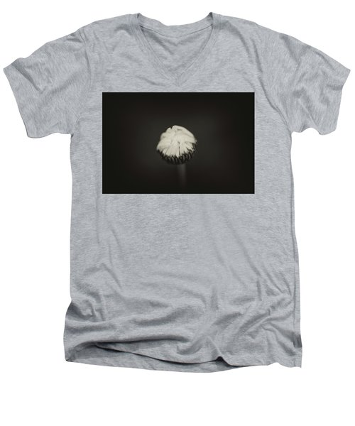 Men's V-Neck T-Shirt featuring the photograph The Grieving Night by Shane Holsclaw