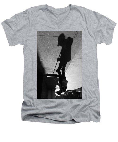 The Grim Sweeper Men's V-Neck T-Shirt