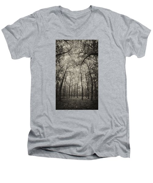 The Hands Of Nature Men's V-Neck T-Shirt by Stavros Argyropoulos
