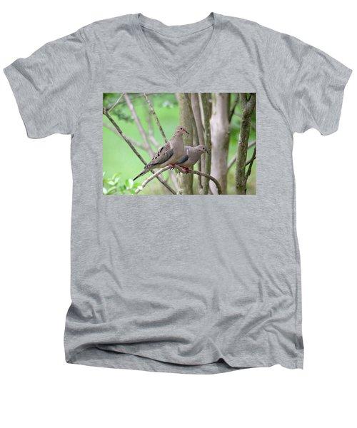 The Happy Couple Men's V-Neck T-Shirt