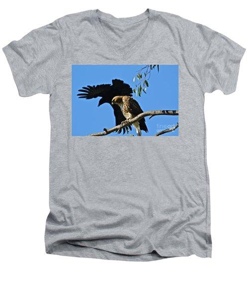 The Harasser Men's V-Neck T-Shirt