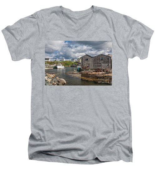 The Harbour Men's V-Neck T-Shirt