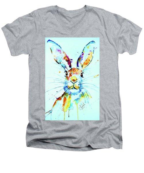 The Hare Men's V-Neck T-Shirt