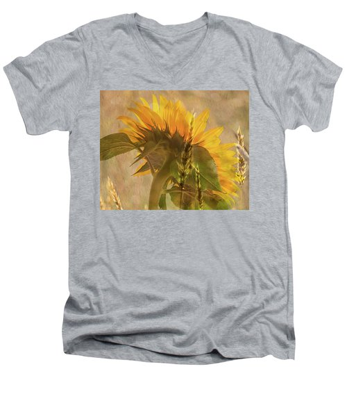 The Heat Of Summer Men's V-Neck T-Shirt
