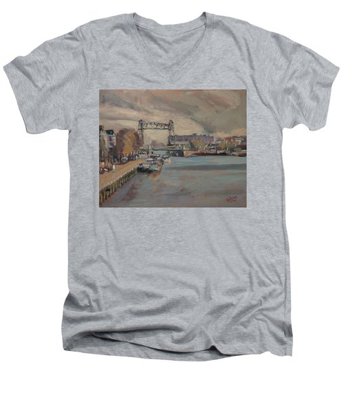 The Hef Rotterdam Men's V-Neck T-Shirt