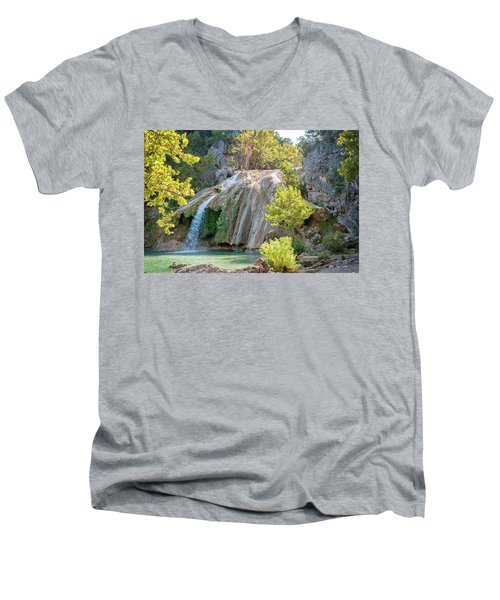 The Hidden Pearl Men's V-Neck T-Shirt