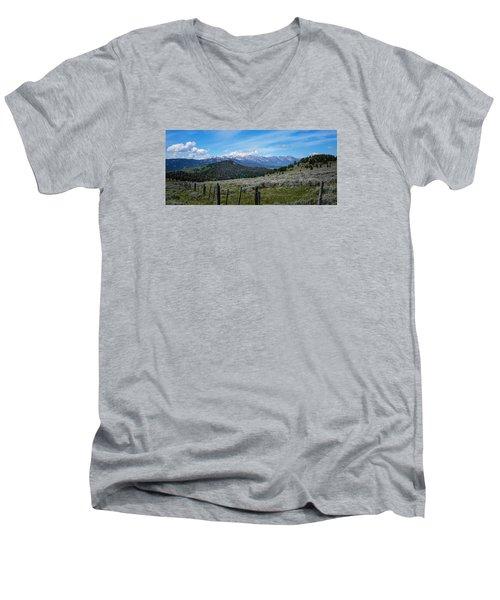 The High Divide  Men's V-Neck T-Shirt