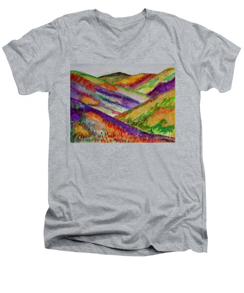 The Hills Are Alive Men's V-Neck T-Shirt