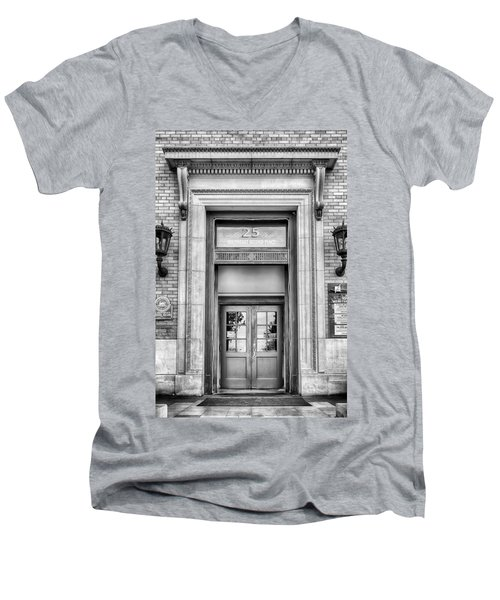 Men's V-Neck T-Shirt featuring the photograph The Hippodrome  by Howard Salmon