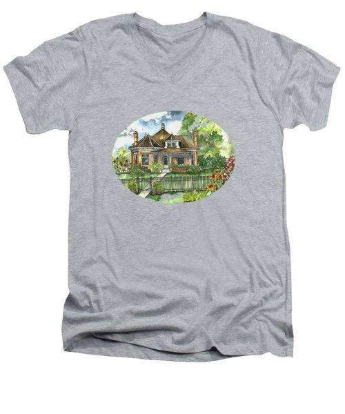 The House On Spring Lane Men's V-Neck T-Shirt