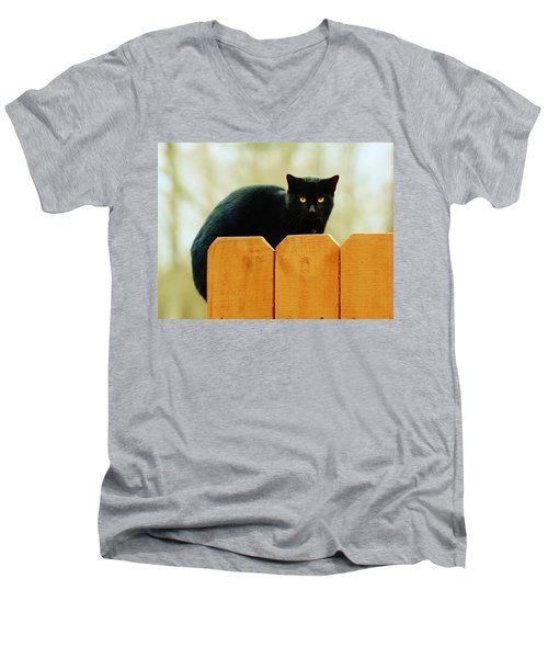 The Instigator Men's V-Neck T-Shirt