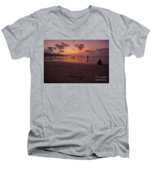 The Island Of God #15 Men's V-Neck T-Shirt