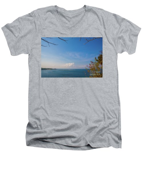 The Island Of God #5 Men's V-Neck T-Shirt